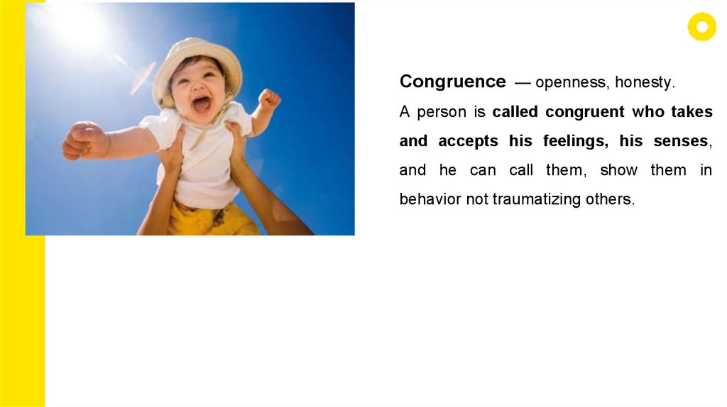 What is congruence in psychology
